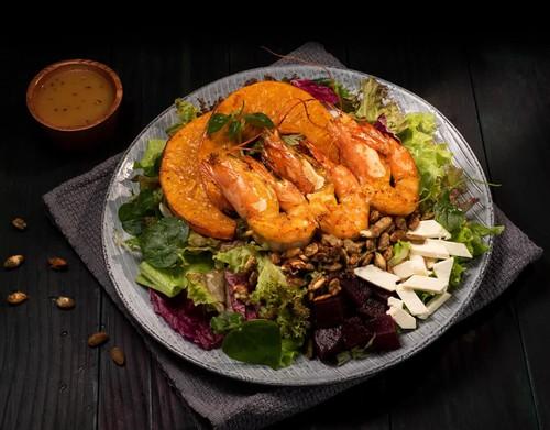 Salad tôm kiểu Địa Trung Hải