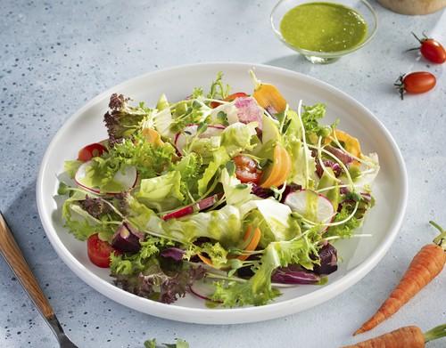 Salad rau mùa sốt mác mác
