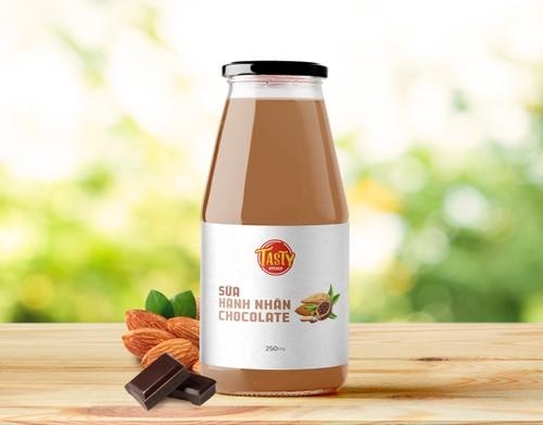 Sữa hạnh nhân chocolate