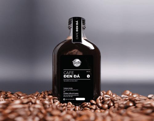 Cà phê đen chai 200 ml