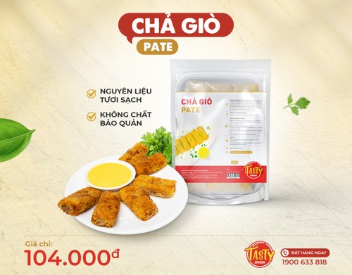 Chả giò pate (Ready to cook)
